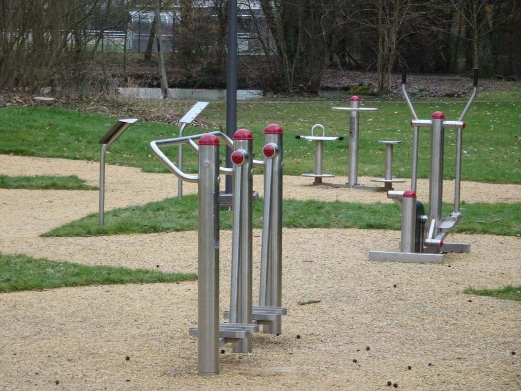 Senioren Fitness Parcours Merterrt