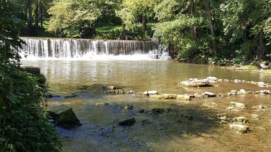 Wasserfall-Mertert